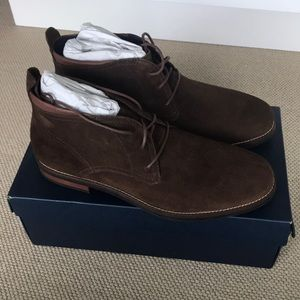 Brand New Cole Haan Brown Suede Chukka Boots